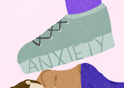 Crushed by Anxiety