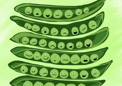 Peas with a personality